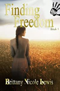 Author Brittany Nicole Lewis Finding Freedom Book Cover Image