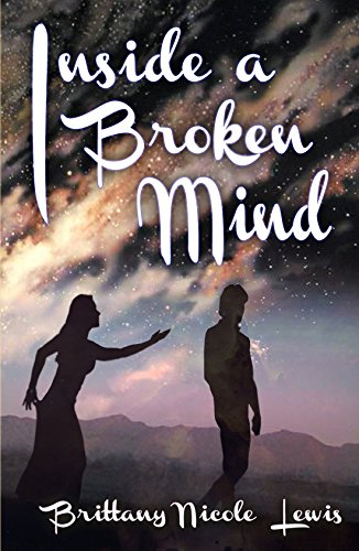 Author Brittany Nicole Lewis Inside a Broken Mind Book Cover Image